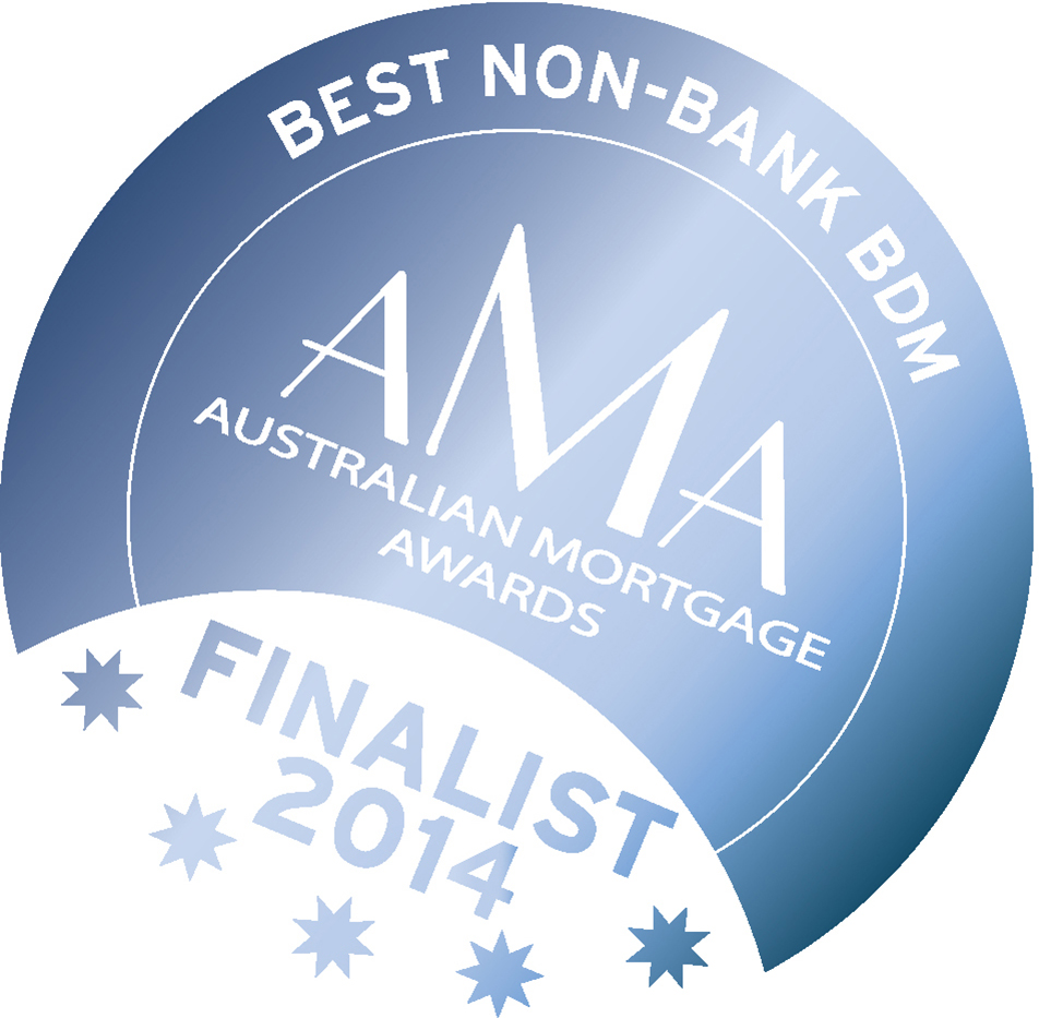 Best Non-Bank BDM AMA Australian Mortgage Awards Finalist 2014