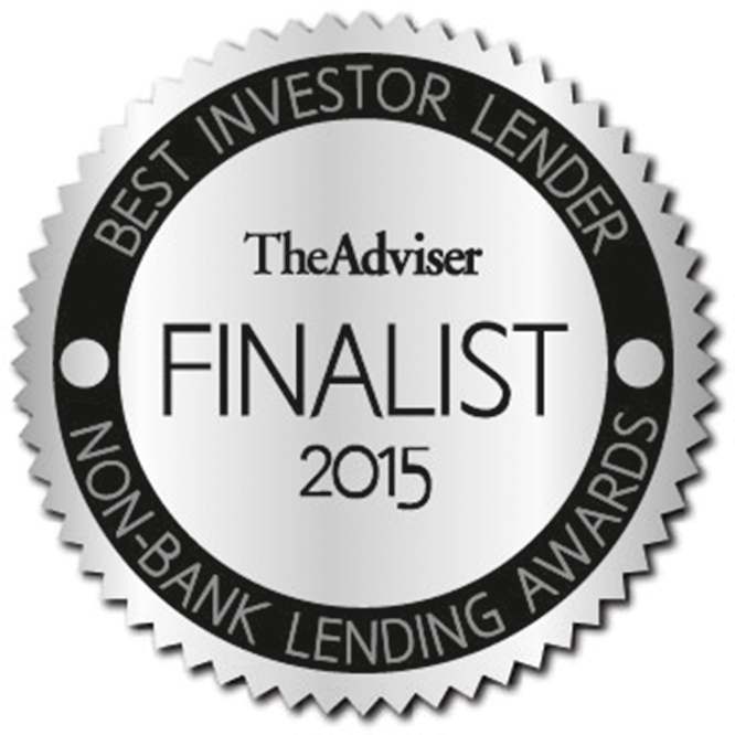 The Adviser - Best Investor Lender 2015 - Finalist